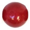 Semi-Precious 10mm Round Coral Candy Jade